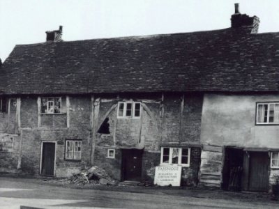 The Falcon Inn - Denham - Blacksmiths Cottage before restoration